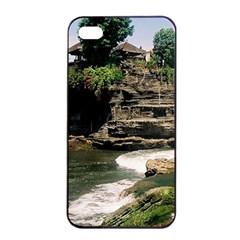 Tanah Lot Bali Indonesia Apple Iphone 4/4s Seamless Case (black)