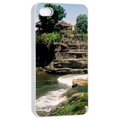 Tanah Lot Bali Indonesia Apple Iphone 4/4s Seamless Case (white)