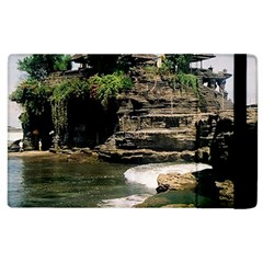 Tanah Lot Bali Indonesia Apple Ipad 2 Flip Case by Nexatart