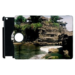 Tanah Lot Bali Indonesia Apple Ipad 3/4 Flip 360 Case by Nexatart