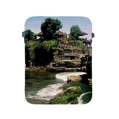 Tanah Lot Bali Indonesia Apple Ipad 2/3/4 Protective Soft Cases by Nexatart