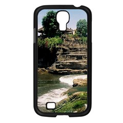Tanah Lot Bali Indonesia Samsung Galaxy S4 I9500/ I9505 Case (black) by Nexatart
