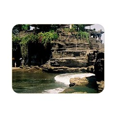 Tanah Lot Bali Indonesia Double Sided Flano Blanket (mini)