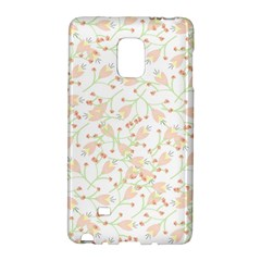 Small Floral Flowers Pattern  Galaxy Note Edge by paulaoliveiradesign