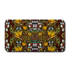 Fantasy Forest And Fantasy Plumeria In Peace Medium Bar Mats by pepitasart
