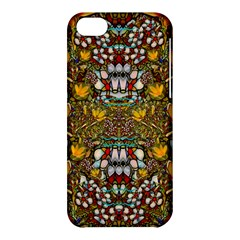 Fantasy Forest And Fantasy Plumeria In Peace Apple Iphone 5c Hardshell Case by pepitasart