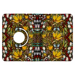 Fantasy Forest And Fantasy Plumeria In Peace Kindle Fire Hdx Flip 360 Case by pepitasart