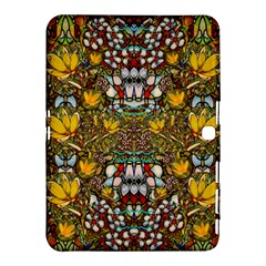 Fantasy Forest And Fantasy Plumeria In Peace Samsung Galaxy Tab 4 (10 1 ) Hardshell Case  by pepitasart