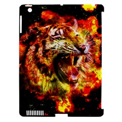 Fire Tiger Apple Ipad 3/4 Hardshell Case (compatible With Smart Cover) by stockimagefolio1