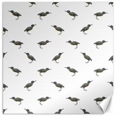Exotic Birds Motif Pattern Canvas 16  X 16   by dflcprints
