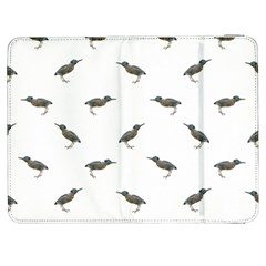Exotic Birds Motif Pattern Samsung Galaxy Tab 7  P1000 Flip Case by dflcprints