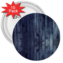 Grey Fence 2 3  Buttons (10 Pack)  by trendistuff