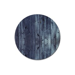 Grey Fence 2 Magnet 3  (round) by trendistuff