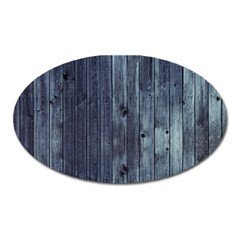 Grey Fence 2 Oval Magnet by trendistuff