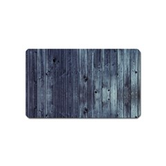 Grey Fence 2 Magnet (name Card) by trendistuff