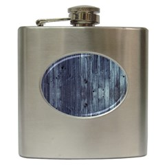 Grey Fence 2 Hip Flask (6 Oz) by trendistuff