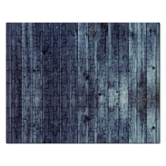 Grey Fence 2 Rectangular Jigsaw Puzzl by trendistuff