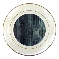 Grey Fence 2 Porcelain Plates by trendistuff