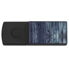 Grey Fence 2 Rectangular Usb Flash Drive by trendistuff