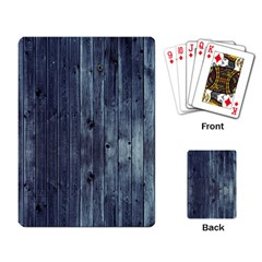 Grey Fence 2 Playing Card by trendistuff
