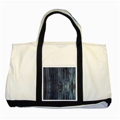 Grey Fence 2 Two Tone Tote Bag by trendistuff