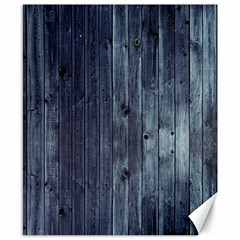 Grey Fence 2 Canvas 8  X 10  by trendistuff