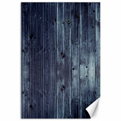 Grey Fence 2 Canvas 12  X 18   by trendistuff
