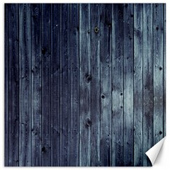 Grey Fence 2 Canvas 16  X 16   by trendistuff