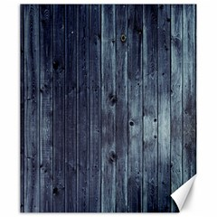 Grey Fence 2 Canvas 20  X 24   by trendistuff
