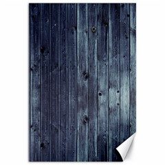 Grey Fence 2 Canvas 20  X 30   by trendistuff
