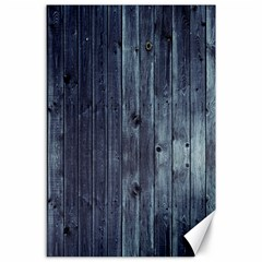 Grey Fence 2 Canvas 24  X 36  by trendistuff