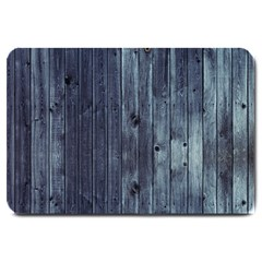 Grey Fence 2 Large Doormat  by trendistuff