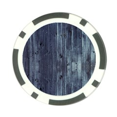 Grey Fence 2 Poker Chip Card Guard by trendistuff