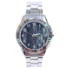 Grey Fence 2 Stainless Steel Analogue Watch by trendistuff