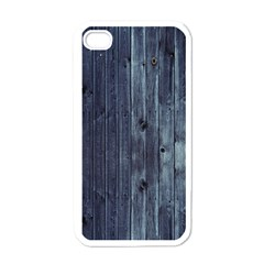 Grey Fence 2 Apple Iphone 4 Case (white) by trendistuff