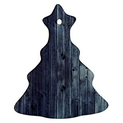 Grey Fence 2 Ornament (christmas Tree)  by trendistuff