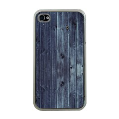 Grey Fence 2 Apple Iphone 4 Case (clear) by trendistuff