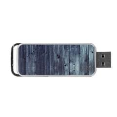 Grey Fence 2 Portable Usb Flash (one Side) by trendistuff