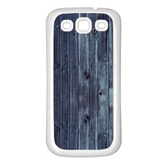 Grey Fence 2 Samsung Galaxy S3 Back Case (white) by trendistuff