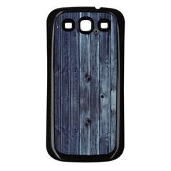 Grey Fence 2 Samsung Galaxy S3 Back Case (black) by trendistuff