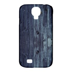 Grey Fence 2 Samsung Galaxy S4 Classic Hardshell Case (pc+silicone) by trendistuff