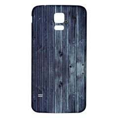 Grey Fence 2 Samsung Galaxy S5 Back Case (white) by trendistuff