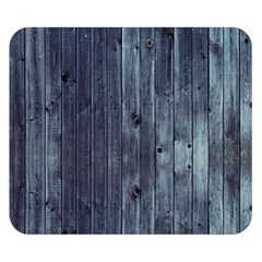 Grey Fence 2 Double Sided Flano Blanket (small)  by trendistuff