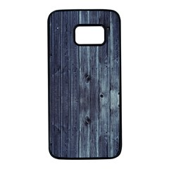 Grey Fence 2 Samsung Galaxy S7 Black Seamless Case by trendistuff