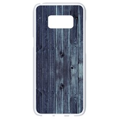 Grey Fence 2 Samsung Galaxy S8 White Seamless Case by trendistuff