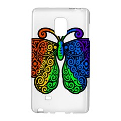 Rainbow Butterfly  Galaxy Note Edge by Valentinaart