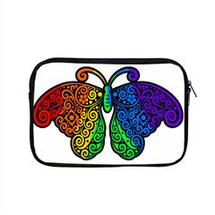 Rainbow Butterfly  Apple Macbook Pro 15  Zipper Case by Valentinaart