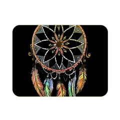 Dreamcatcher  Double Sided Flano Blanket (mini)  by Valentinaart