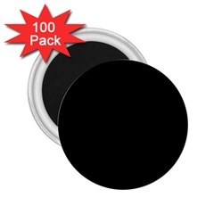 Black 2 25  Magnets (100 Pack)  by theunrulyartist