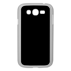 Black Samsung Galaxy Grand Duos I9082 Case (white) by theunrulyartist